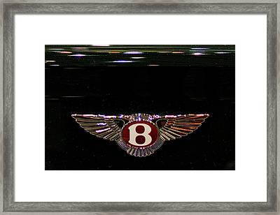 Bentley Insignia #2 Framed Print