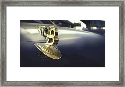 Bentley Mulsanne Hallmark Series 2017 Framed Print by Fran Soto