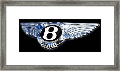 Bentley Framed Print by Ricky Barnard