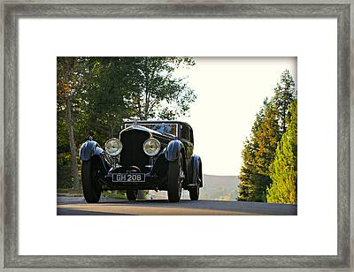 Bentley Speed 6 Corsica Framed Print