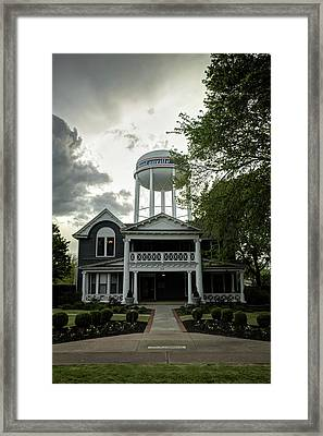 Bentonville Arkansas Water Tower Framed Print