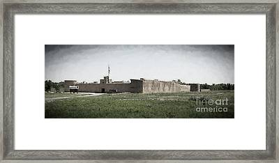 Bent's Old Fort Framed Print by Jon Burch Photography