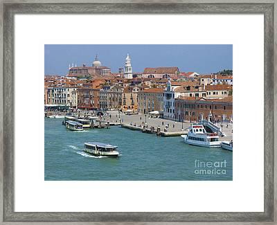 Benvenuto Venice Framed Print