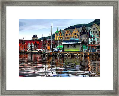 Bergen Colors Framed Print