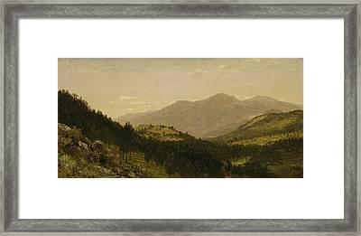 Bergen Park  Framed Print