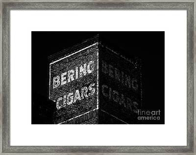 Bering Cigar Factory Framed Print by David Lee Thompson