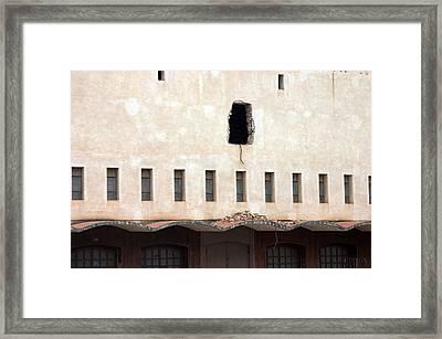 Berja 8 Framed Print by Jez C Self