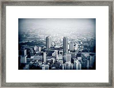 Berjaya Framed Print