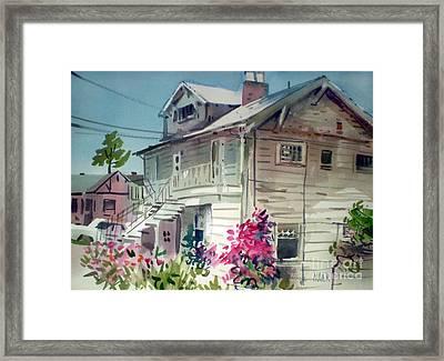 Berkeley House Framed Print