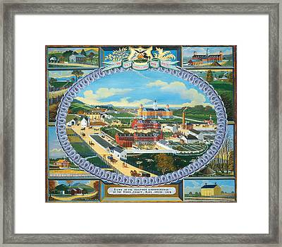 Berks County Almshouse Framed Print by Mountain Dreams