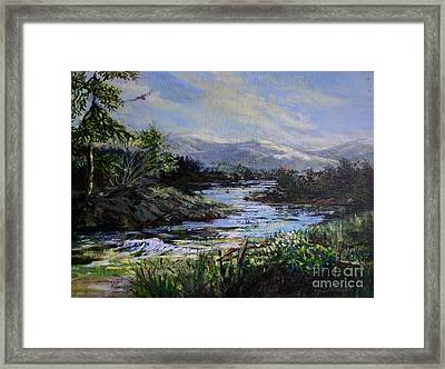 Berkshire Morning Framed Print