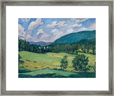 Berkshires Summer Framed Print