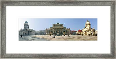 Berlin - Gendarmenmarkt Framed Print by Marc Huebner