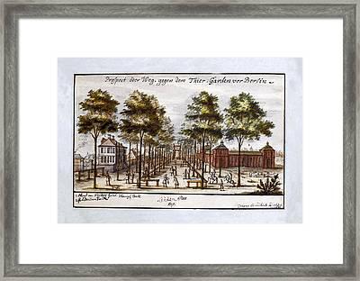Berlin 1691 Framed Print