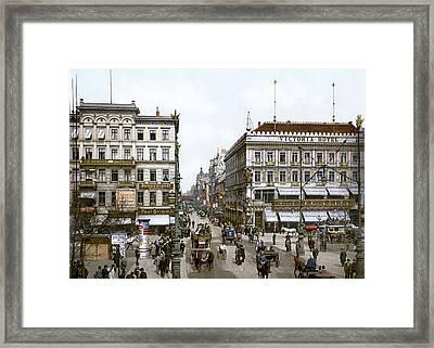Berlin 1900 Framed Print