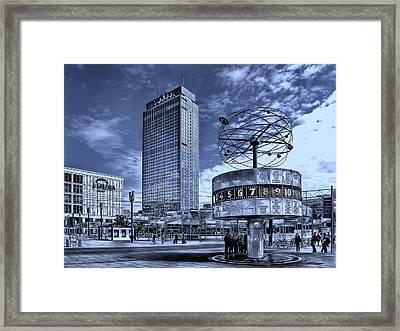 Berlin Alexanderplatz Framed Print by Joachim G Pinkawa