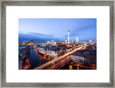 Berlin Alexanderplatz Framed Print by Thanks for visiting my work - Tafelzwerk.