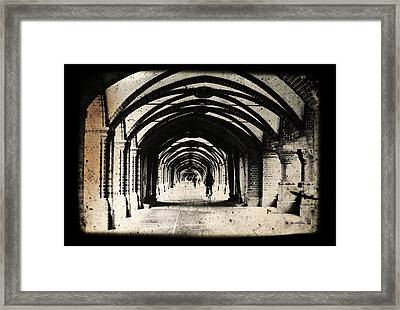 Berlin Arches Framed Print by Andrew Paranavitana