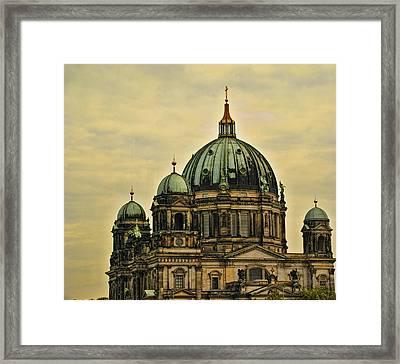 Berlin Architecture Framed Print by Jon Berghoff
