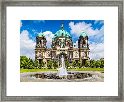 Berlin Cathedral Framed Print by JR Photography