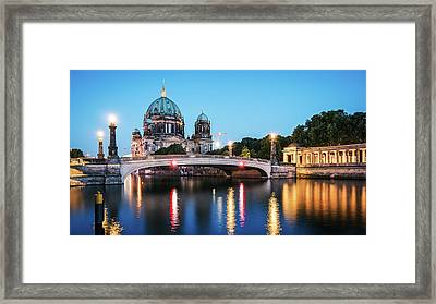 Berlin Cathedral - Museum Island Framed Print by Alexander Voss
