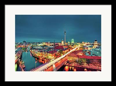Alexanderplatz Framed Prints