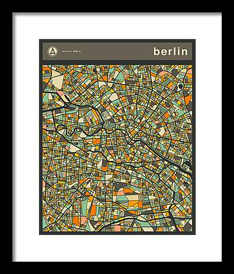 Berlin Framed Prints