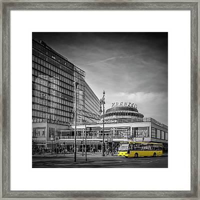 Berlin City-west Framed Print by Melanie Viola
