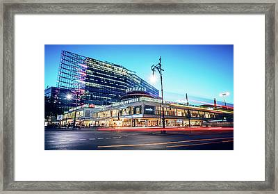 Berlin - City West / Neues Kranzler Eck Framed Print by Alexander Voss