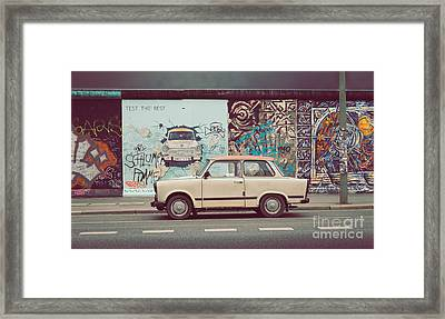 Berlin East Side Gallery Framed Print by JR Photography