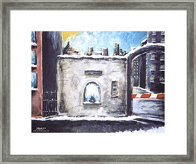 Berlin Gate No.2 Framed Print by James Sayer