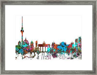 Berlin Germany Skyline  Framed Print by Marlene Watson