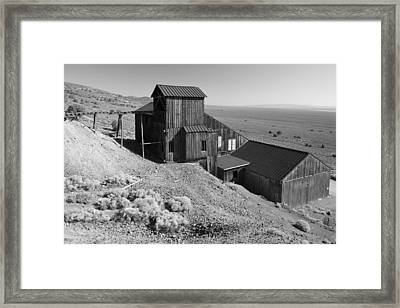 Berlin Ghost Town Framed Print by Christian Heeb