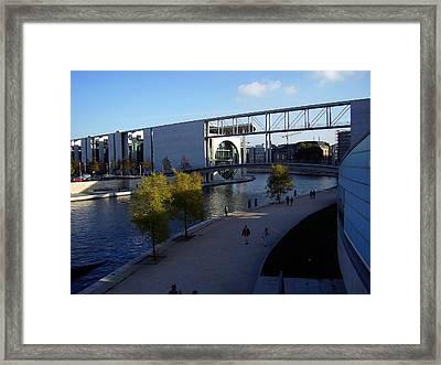 Berlin II Framed Print by Flavia Westerwelle