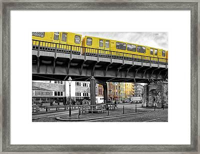 Berlin Impressions II Framed Print