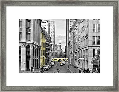 Berlin Impressions Iv Framed Print by Joachim G Pinkawa
