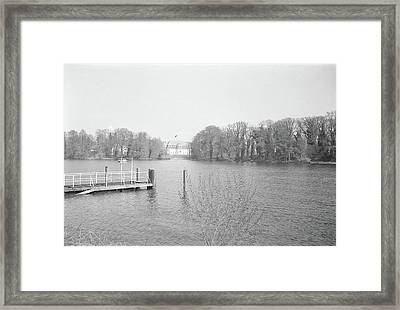Berlin Lake Framed Print