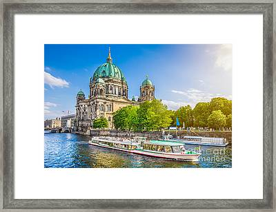 Berlin Museumsinsel Framed Print by JR Photography