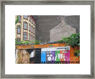 Framed Print featuring the photograph Berlin New And Old by Erik Falkensteen