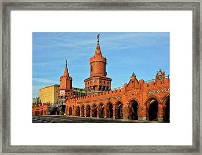 Berlin Oberbaumbruecke Framed Print