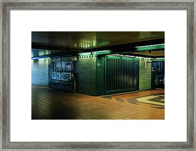 Berlin Underground Station Framed Print by Pati Photography