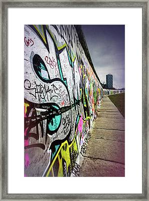 Berlin Wall Germany  Framed Print