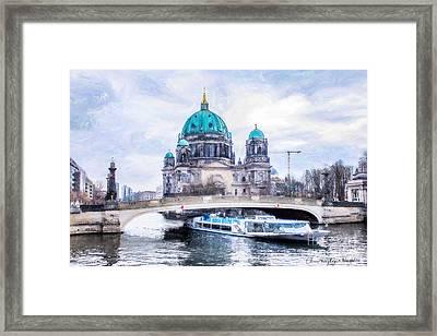 Berliner Dom Framed Print