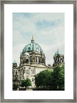 Berliner Dom Framed Print by Pati Photography