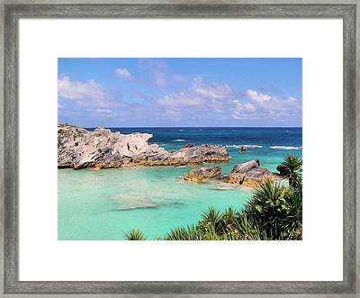 Bermuda Seascape Framed Print