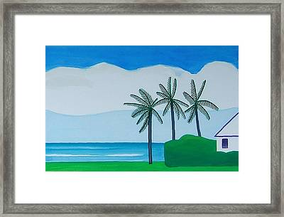 Bermuda Variations  Framed Print by Dick Sauer