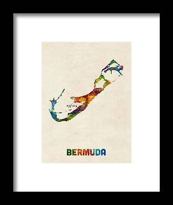 Bermuda Framed Prints