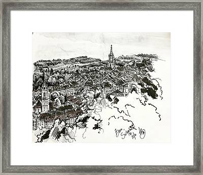 Bern, Switzerland Framed Print by Anthony Brooks