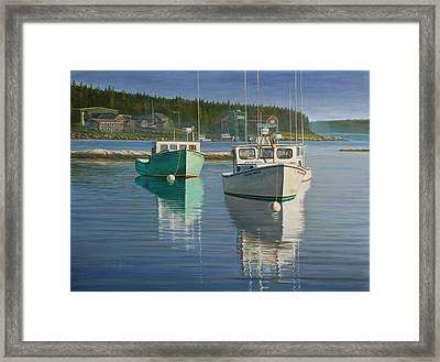 Bernard Harbor Framed Print by Bruce Dumas