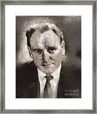Bernard Lee, Actor Framed Print by Mary Bassett